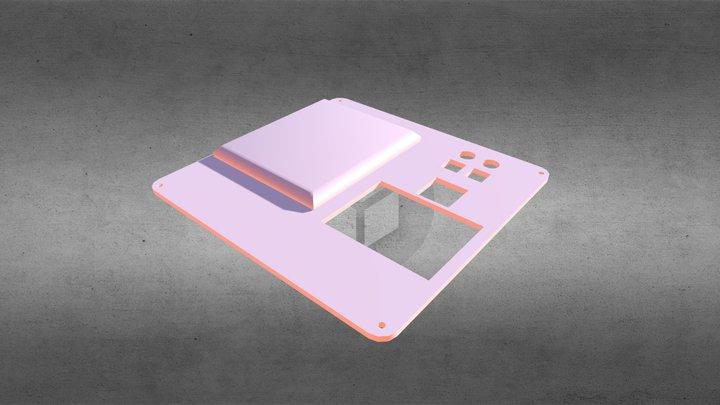 LED Photometer case cover part 3D Model