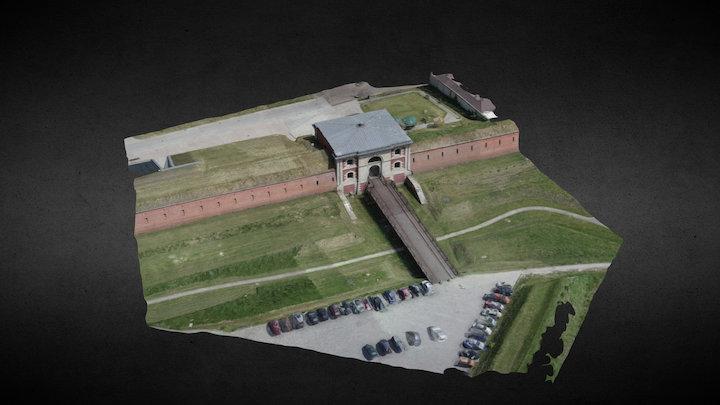 Brama Szczebrzeska, Zamość, Poland 3D Model