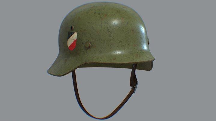 Nazi Helmet M35 3D Model