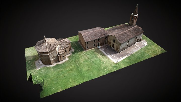 St. John the Baptist Rural Church 3D Model