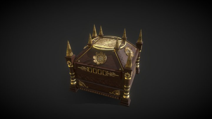 The Mysterious Box 3D Model