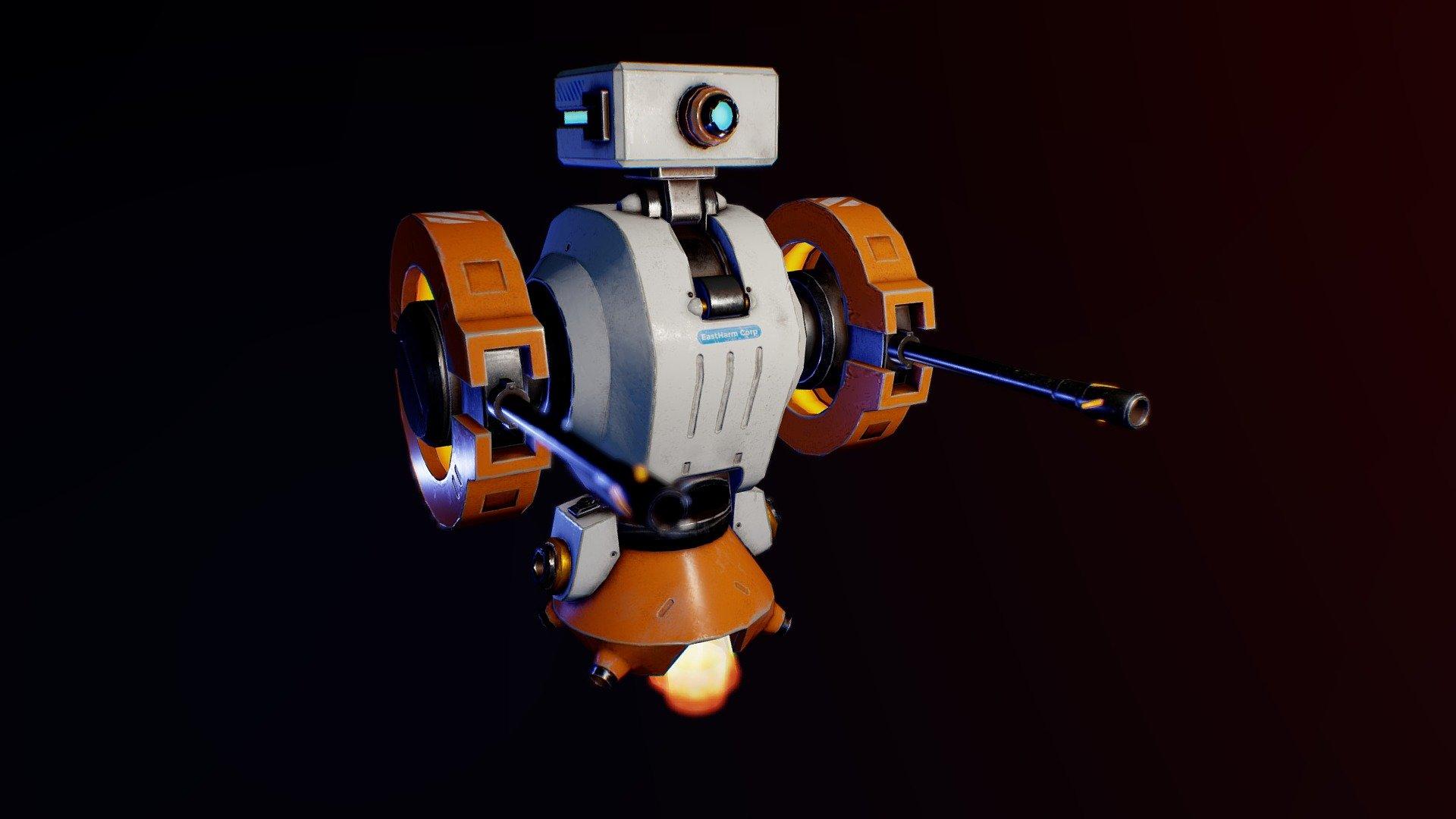 Trainig bot (in progress) - Download Free 3D model by ...