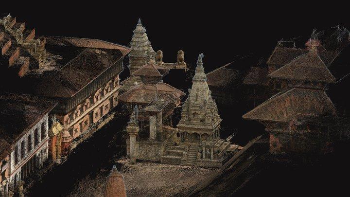 Bhaktapur Durbar Square (Ver1) 3D Model