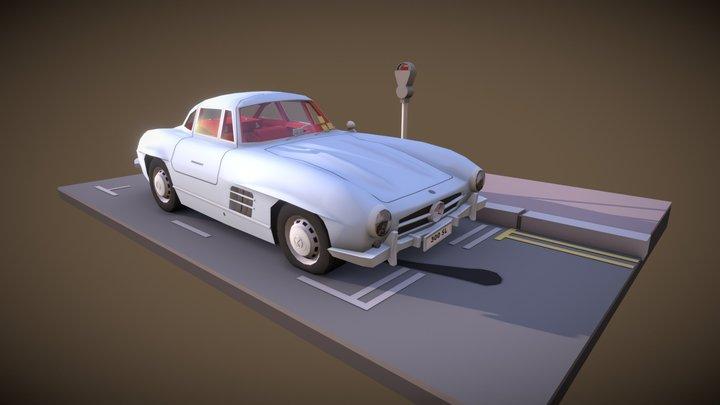 Mercedes 300SL 3D Model