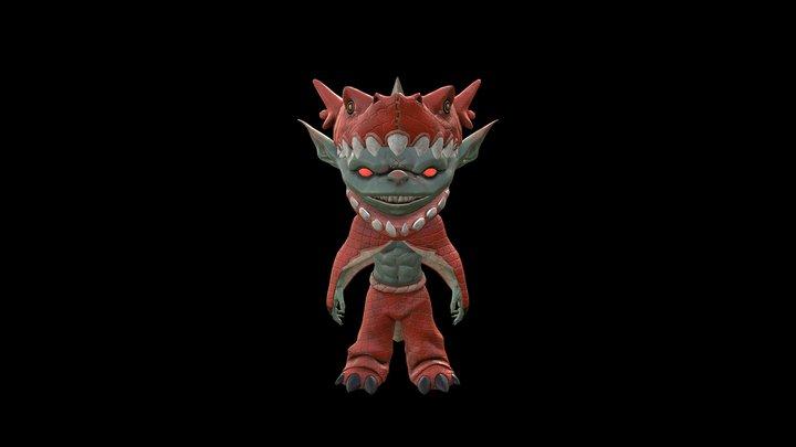 Pathfinder Goblin 3D Model