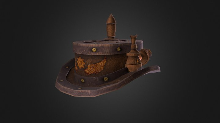 Boiler Hat for the Industrious Chap 3D Model