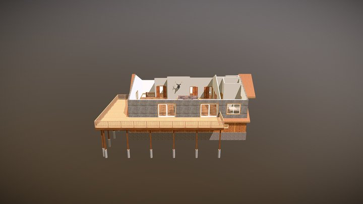 CATHEY-Roof off 2-19-2020 3D Model