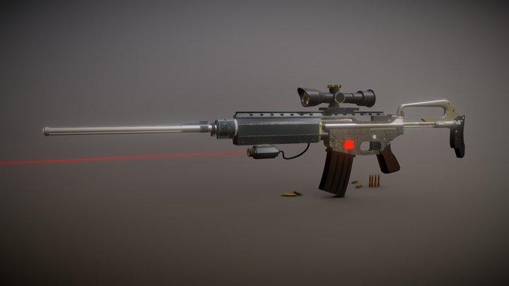 SIFI Concept Gun 3D Model