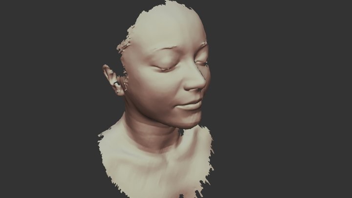 Démo Immersion - Visage Elodie 3D Model