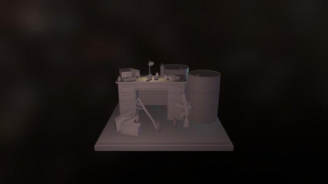 Escena Post Apo 3D Model