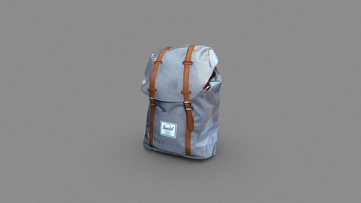 Retreat Herschel bag 3D Model
