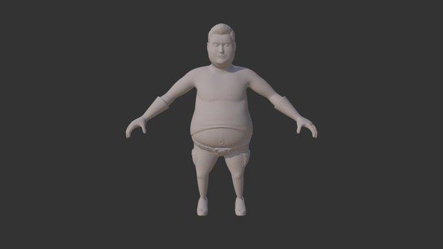 Big Belly Smooth 3D Model