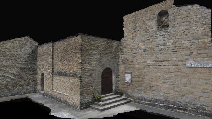 EXTERIOR DEL CLAUSTRO EN LA ZONA NORESTE. 3D Model