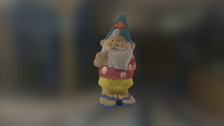 Hula Gnome - Medium 3D Model