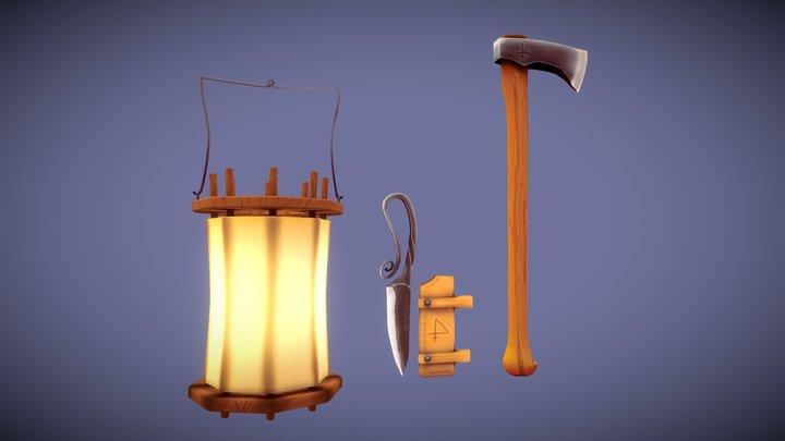 Tools Wip 3D Model