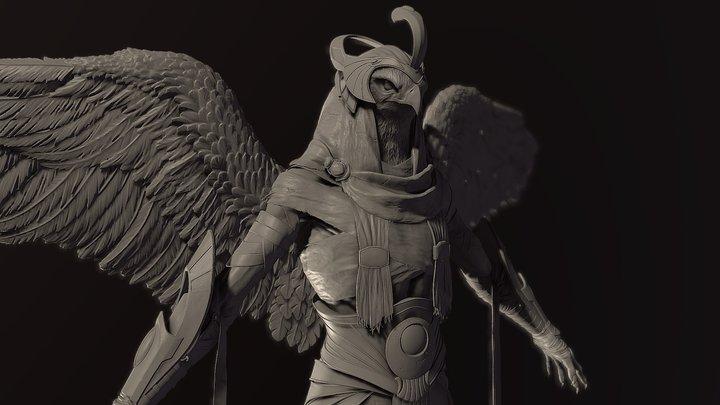 Horus Zbrush Concept 3D Model