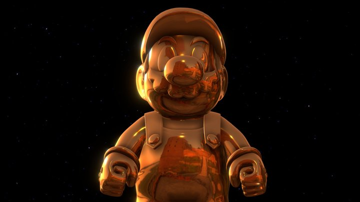 Mario Legacy 3D Model