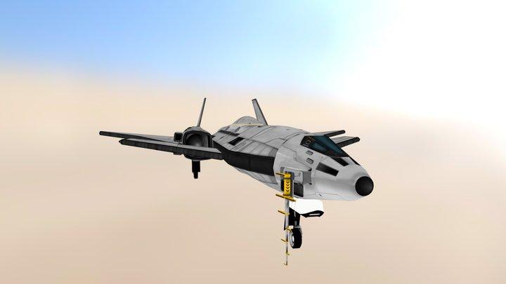 Blackbird B-X05b Raven II Mk2 3D Model