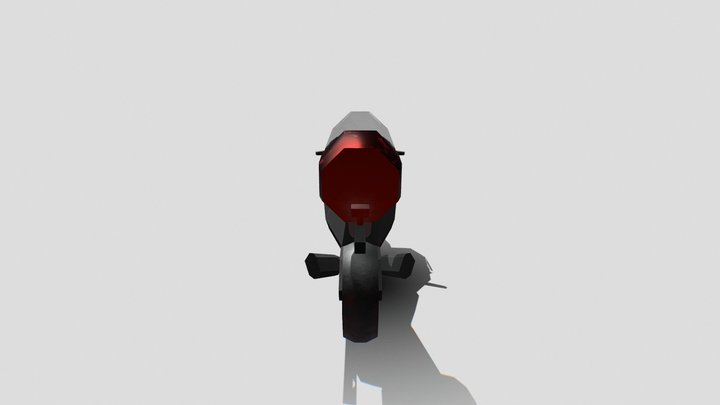 AS1 Faster Food Vehicle 3D Model