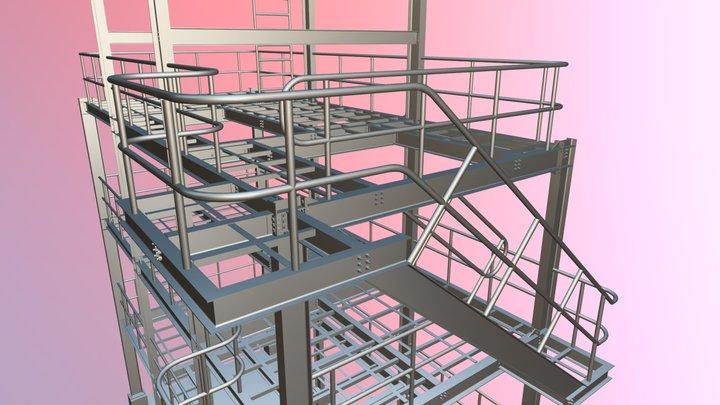 PLATAFORMA PHINA BIOSOLUCIONES 3D Model