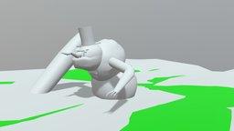 Snow Troll 3D Model