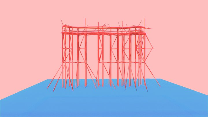 Torres de Agua - Ciudad Abierta 3D Model