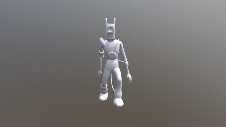 The Projectionist 3D Model