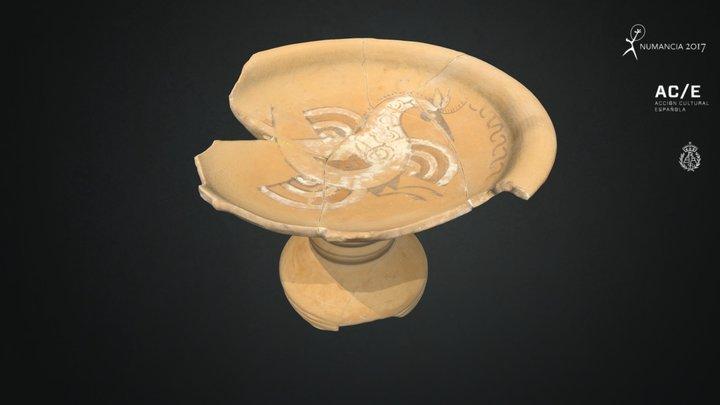 Copa de los peces Nº inv.N11968 3D Model