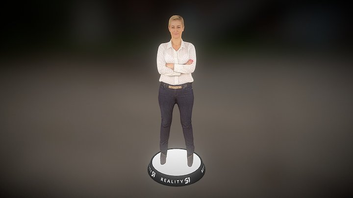 Human Scan 2747 3D Model
