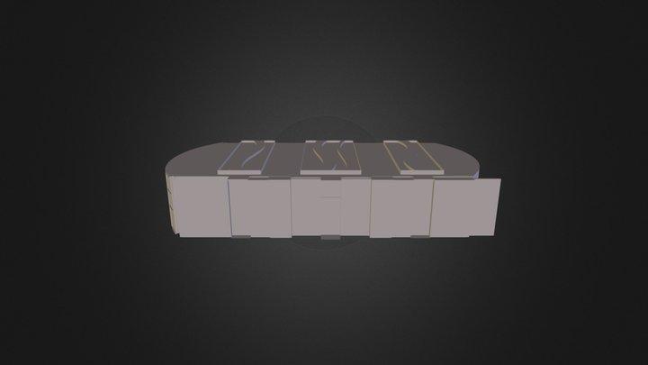 samll test hotel 3D Model