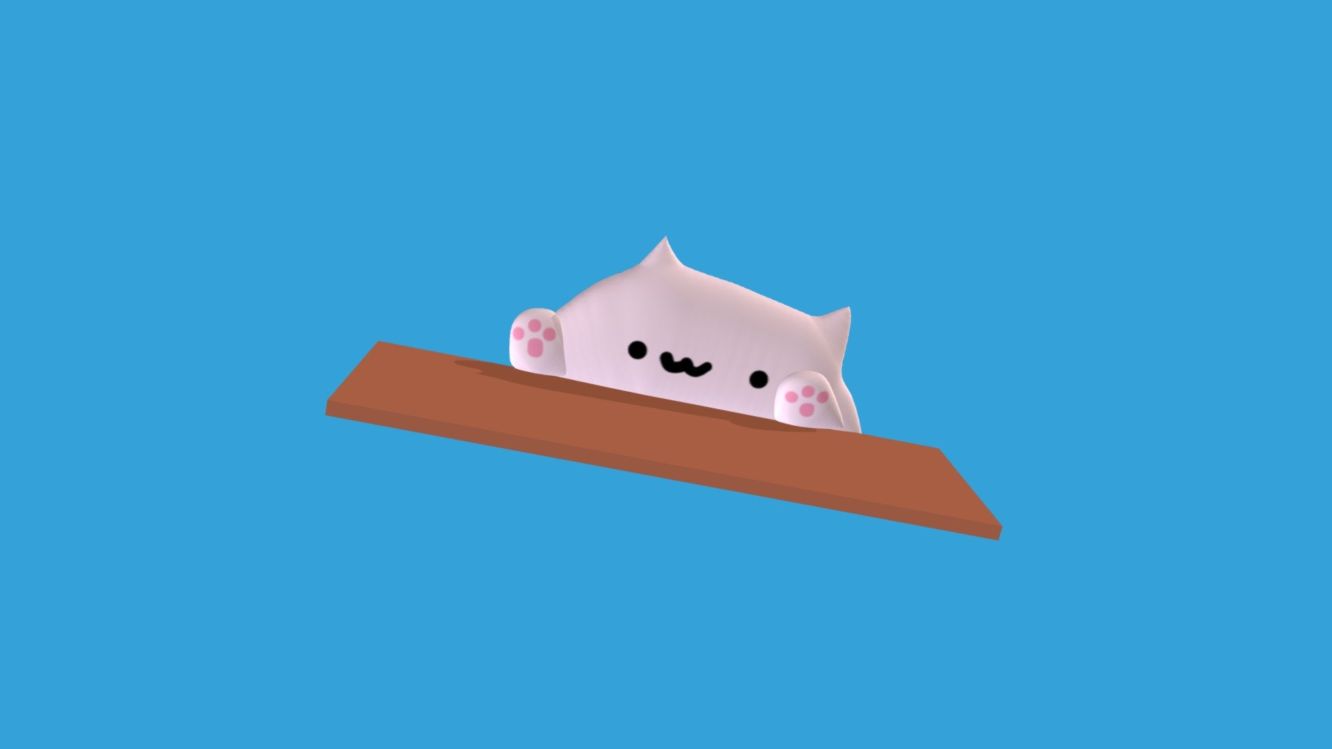 Bongo Cat Download Free 3d Model By Drfaxu Drfaxu 3f99e34 Sketchfab