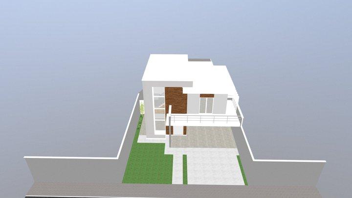 Projeto arquitetônico. Estudo Prévia 01 3D Model