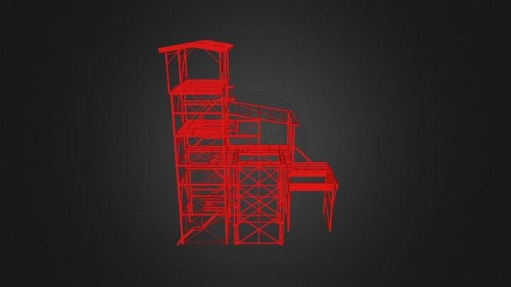 Process Building 3D Model