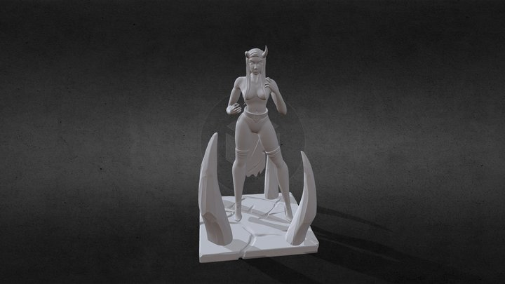 Female Print Final 3D Model