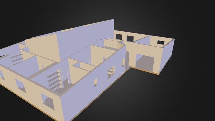 Maison Etienne placards sans portes.zip 3D Model