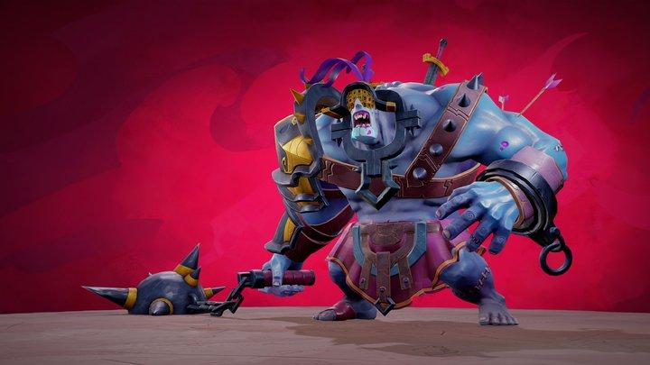 El Gladiador Zombi  ! 3D Model