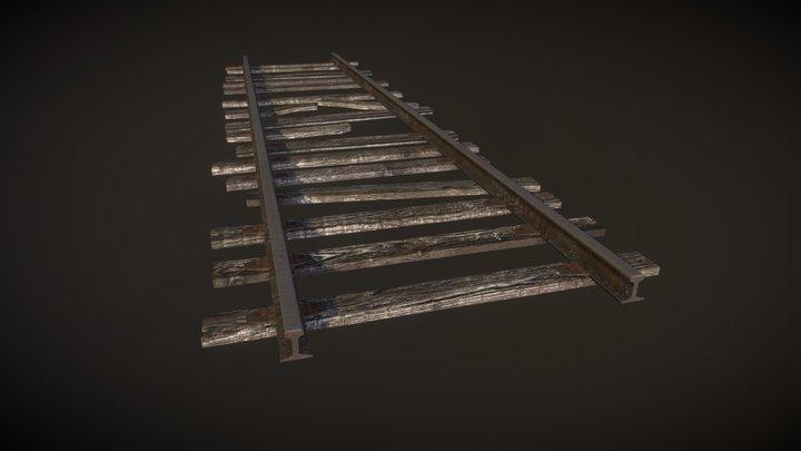 Old Rail 3D Model