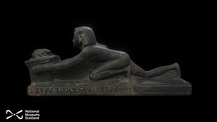 Statue of Ramesses IX 3D Model