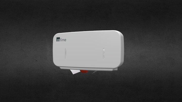 mline² Toilettenpapierspender 3D Model