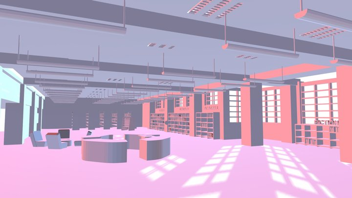 BHS LIBRARY 3D Model