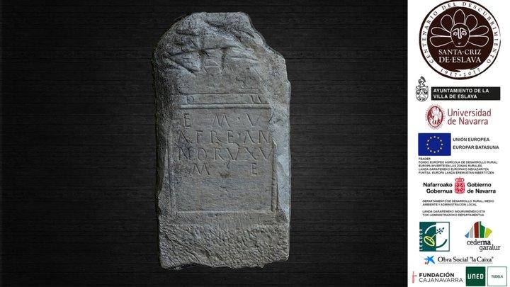 Estela de la joven Aemilia Vafra, siglo II d. C. 3D Model