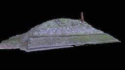 Ballcourt at Cahal Pech 3D Model
