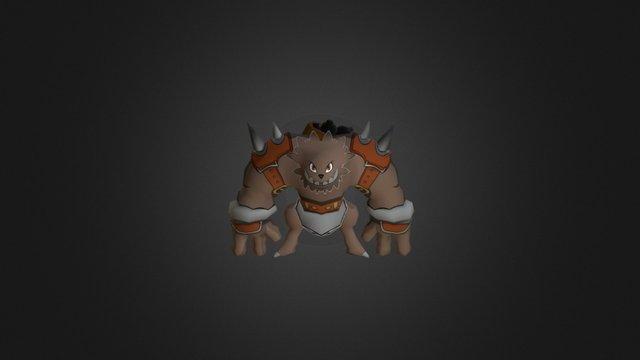 Oar'atan Heavy Reaper 3D Model