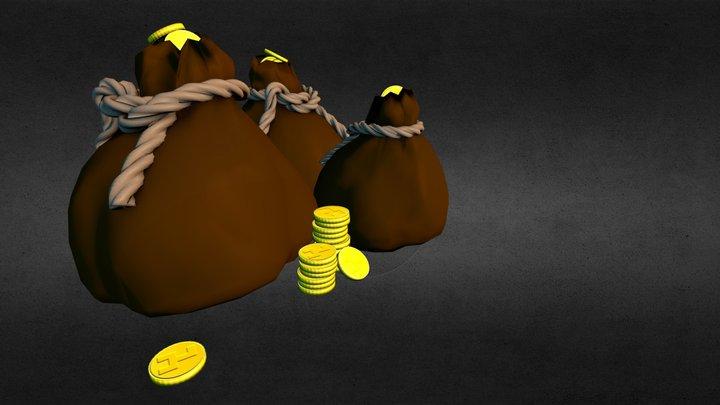 Moneybags 3D Model
