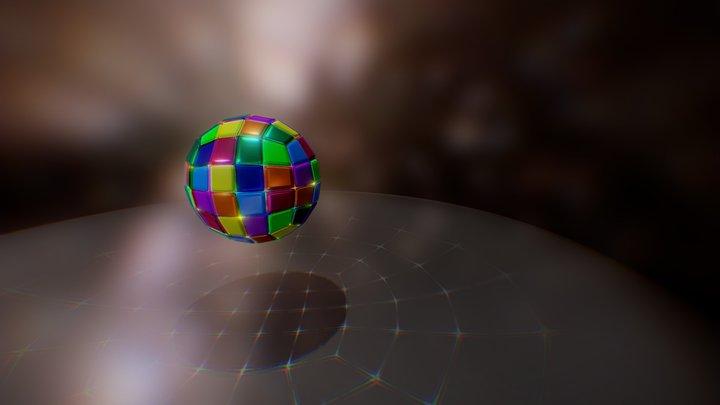 DiscoBrush 3D Model