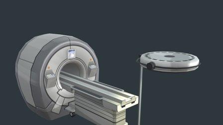 CT scan 3D Model