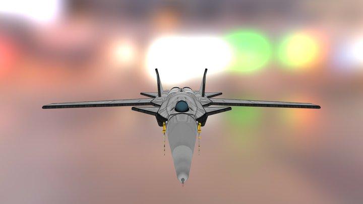 Blackbird B-X11b Golden Raven Mk2 3D Model