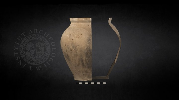 Late Medieval Pot Section (No Inventory Number) 3D Model