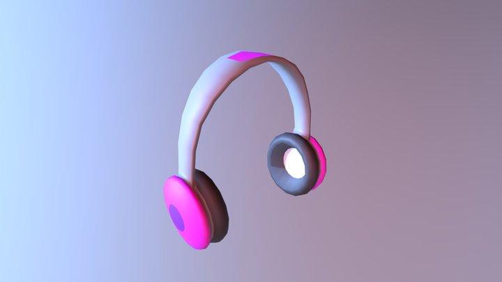 Head Phones 3D Model