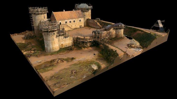 Guédelon - LIDAR & Aerial Photogrammetry 3D Model